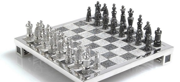The Most Expensive Diamond Chess in the World the most expensive diamond chess1