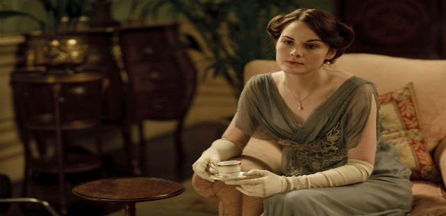 """Mary in Downtown Abbey""  Interiors: Downtown Abbey Home decor trends downton abbey mary"