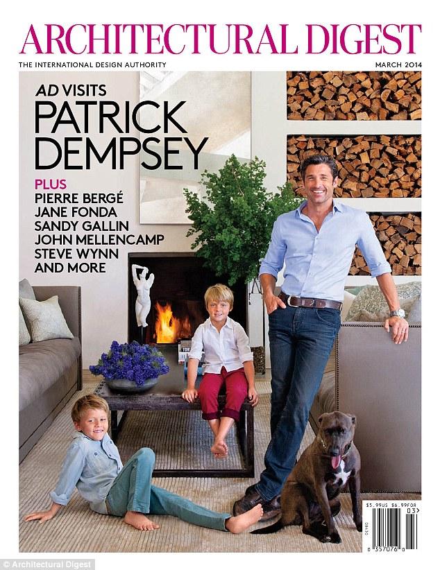 """""""Patrick Dempseys Malibu Home""""  Patrick Dempsey amazing Malibu House article 2552649 1B3968BB00000578 312 634x822"""