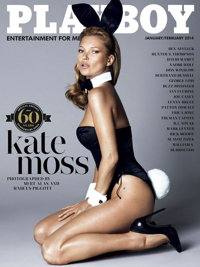 """Playboy cover with Kate Moss"" Inside the playboy mansion Interiors: Inside the Playboy Mansion rs 768x1024 131202065204 1024 Kate Moss Playboy Cover DA 120213"