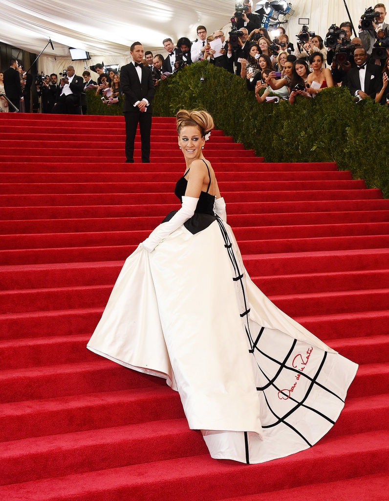 MET GALA 2014: Top ten best dressed Sarah Jessica Parker Met Gala 2014