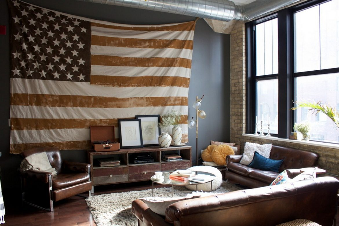 """4th of July best decor ideas""  Best decor ideas for the 4th of July 4th of july patriotic american flag interiors1"