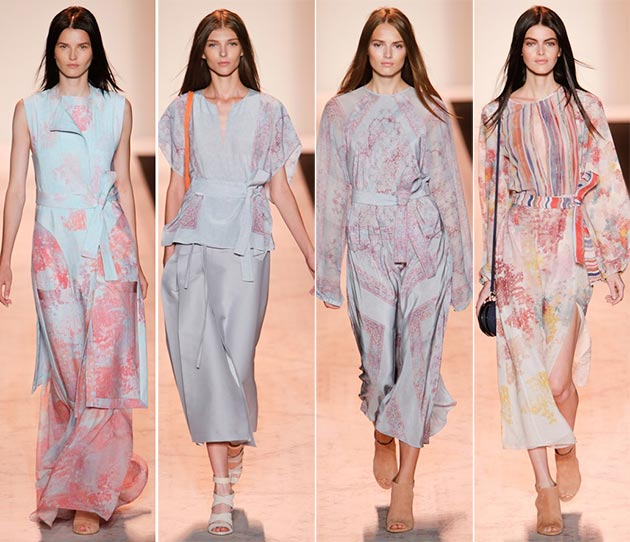 """Spring 2015""  En Plein Air or the colors for Spring 2015 BCBG Max Azria spring summer 2015 collection New York Fashion Week4"