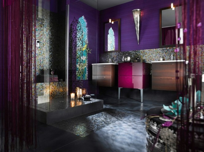 Five bathrooms decor inspired in world countries  Five bathrooms decor inspired in world countries  Best bathrooms decor of the world design in vogue trends