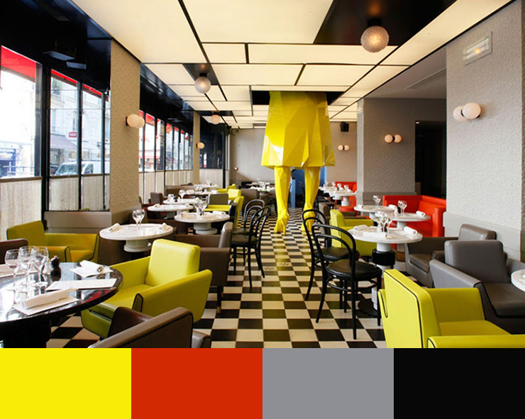 """Restaurant Color Schemes""  A matter of Color: Restaurant Interior Design Color Schemes xavier4  HOME PAGE xavier4"