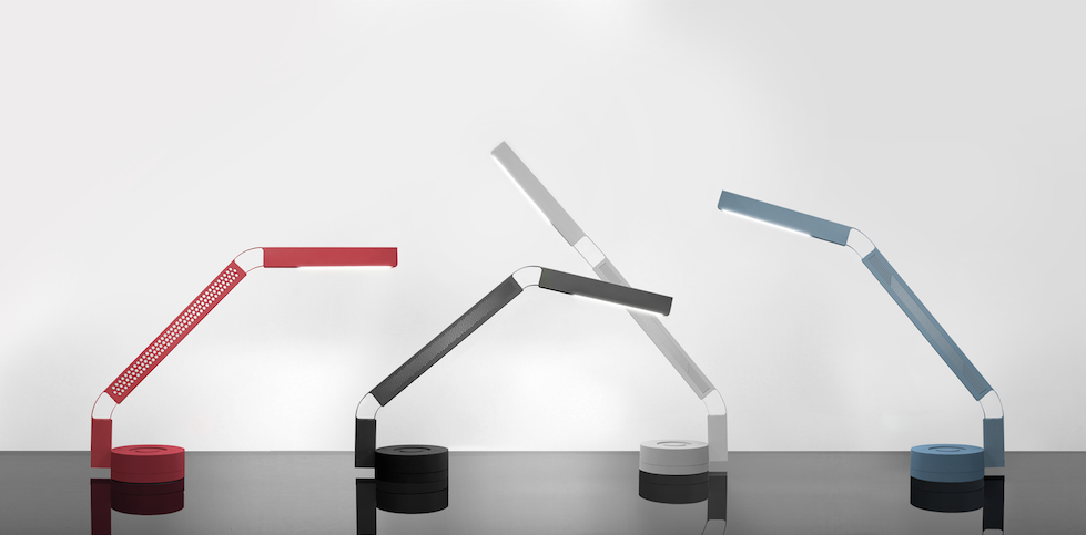 A Sleek Desk Lamp by San Francisco-based Fade Studio FADEfamily