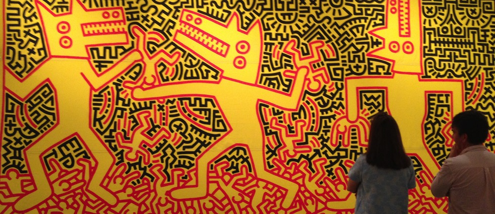 Keith Haring: The Political Line Keith Haring The Political Line